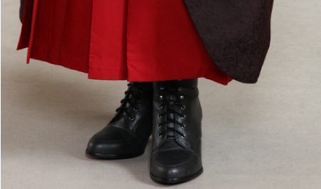 歩きやすい服装「袴」
