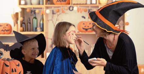 ハロウィンの仮装イベント